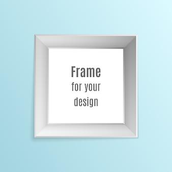 Set di cornici per foto realistiche vintage isolato su sfondo trasparente.