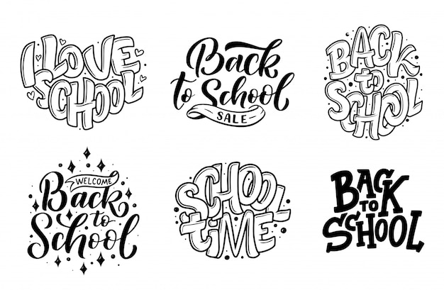 Set di bentornato a citazioni scritte a scuola