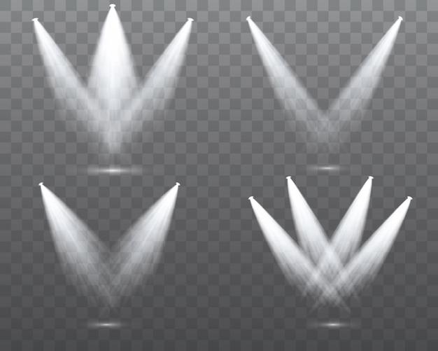 Set di riflettori bianchi