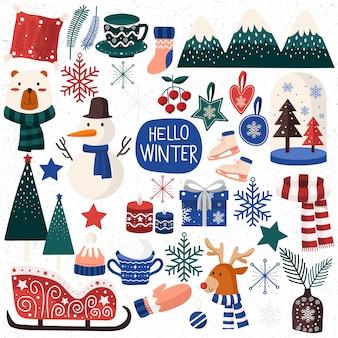 Set di accessori invernali