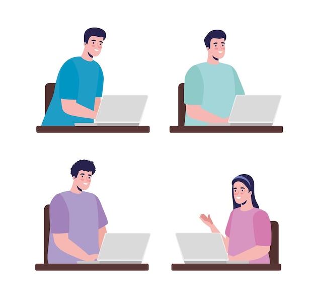 Set di caratteri dei lavoratori