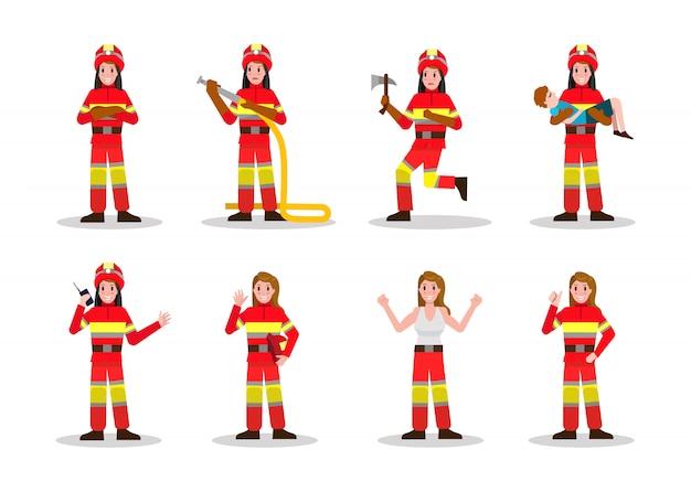 Set di antincendio