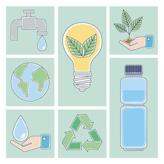 Sette icone dell'ecologia