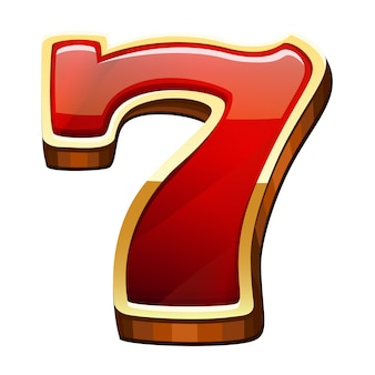Sette icona isolata