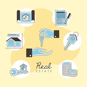Sette icone immobiliari