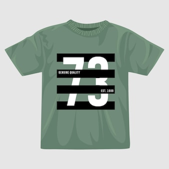 Settantatre vettore t shirt design