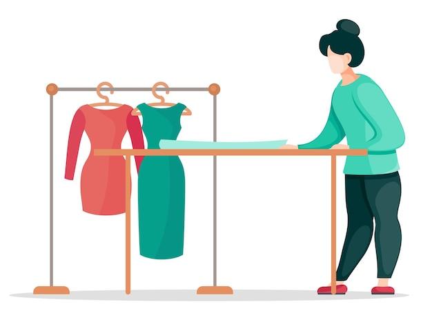 Laboratorio di cucito per abbigliamento personalizzato