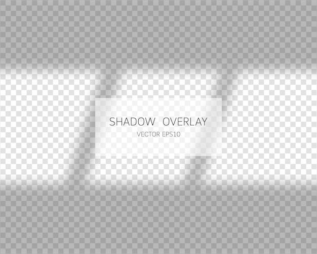 Effetto di sovrapposizione dell'ombra. ombre morbide ed effetti di sovrapposizione di luce. illustrazione.
