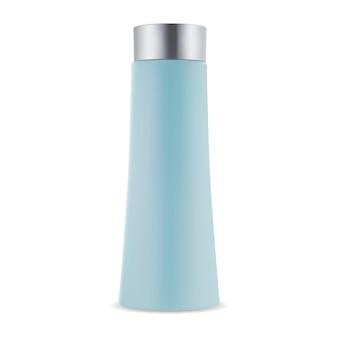 Pacchetto di vettore bottiglia di shampoo contenitore di gel per capelli tubo cosmetico di bellezza