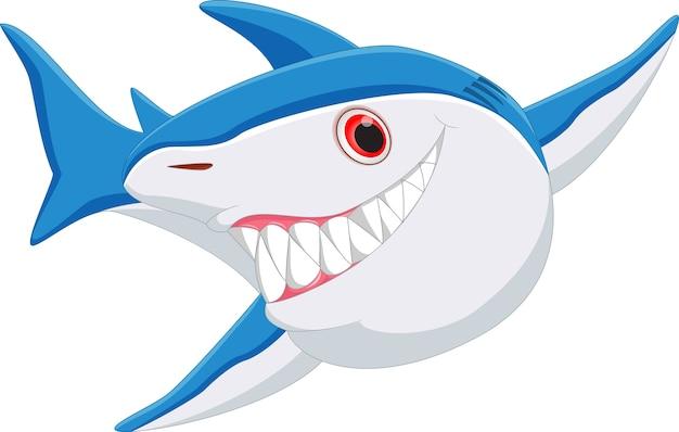 Cartone animato squalo
