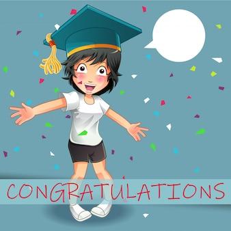 Ti sta dicendo che congratulazioni.
