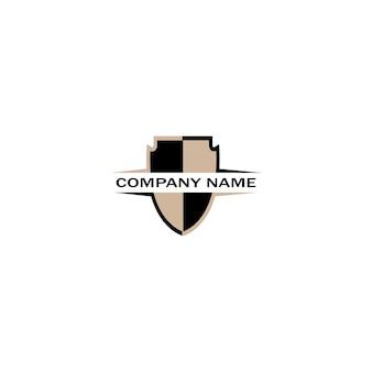 Scudo logo design vettore, scudo emblema logo modello, logosimbolo icona-vettore