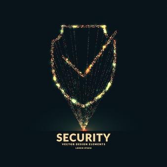 Lo scudo è un simbolo di sicurezza e affidabilità.