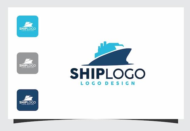 Disegno del logo della nave