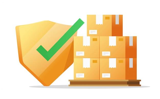 Assicurazione sulla spedizione e consegna del trasporto merci