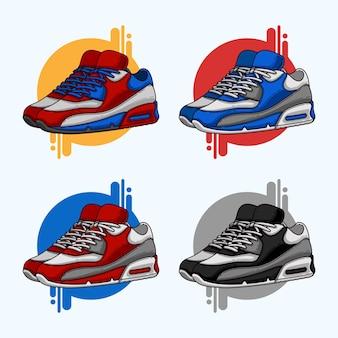 Scarpa sneaker clipart