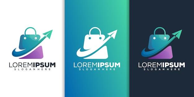 Acquista con il design del logo dell'aereo di carta