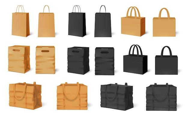 Mockup di borsa della spesa.