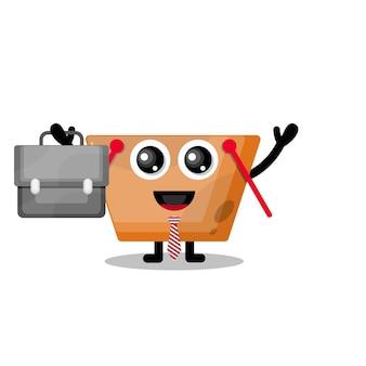 Il carrello della spesa funziona con una simpatica mascotte del personaggio