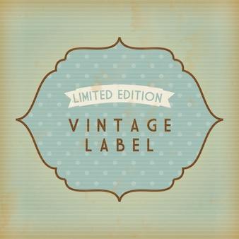Shopping design su sfondo vintage illustrazione vettoriale