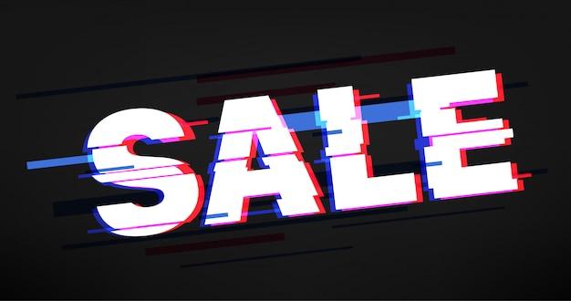 Modello di banner vendita commerciale