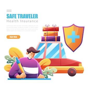 Firmare l'assicurazione per viaggiare in sicurezza