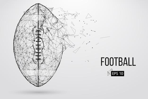 Sagoma di un pallone da calcio