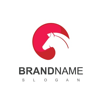 Sagoma cavallo logo