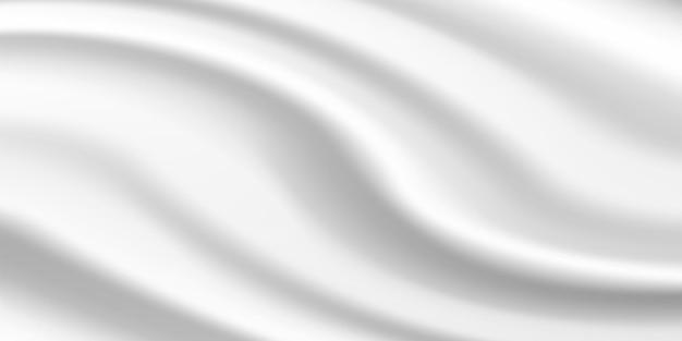 Fondo in seta con increspature e curve dripery