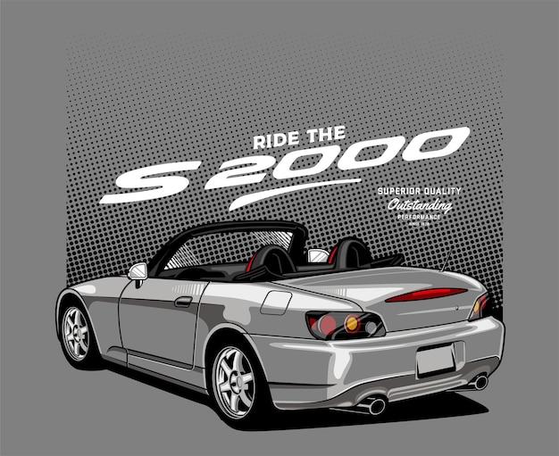 Auto cabriolet argento
