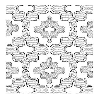 Semplici modelli in bianco e nero sfondi