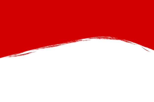 Sfondo semplice modello vettoriale vuoto, giorno dell'indipendenza dell'indonesia nel design di elementi di agosto con effetto pastello