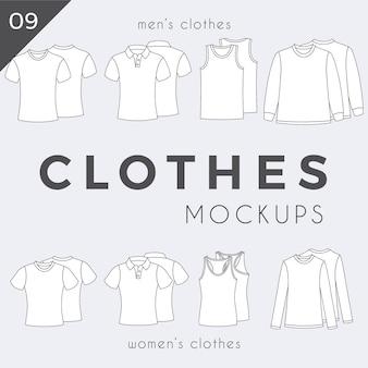 Vestiti semplici