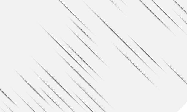 Linee grigie eleganti semplici con ombra. design semplice per il tuo sito web.