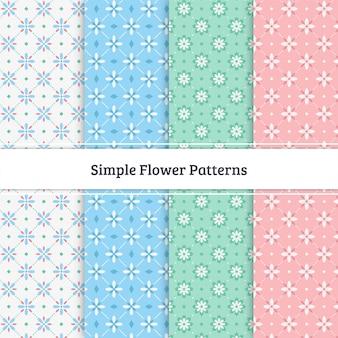 Modelli di fiori semplici