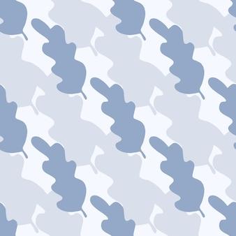 Modello senza cuciture di foglie semplici. sfondo astratto per copertine tessili o di libri, sfondi, design, arte grafica, confezionamento