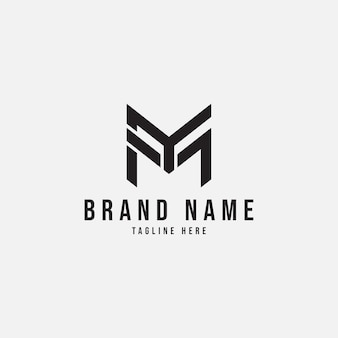 Semplice lettera my logo design