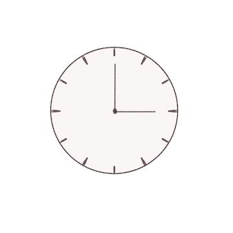 Orologio semplice.