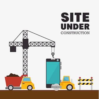 Sito in costruzione macchine mobili e camion