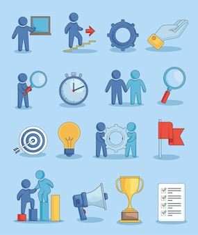 Sedici icone di coaching