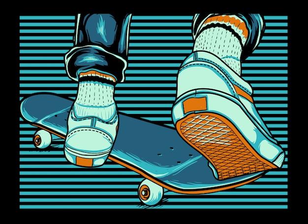 Ragazzo sullo skate