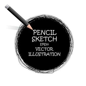 Schizzo disegno con la matita.