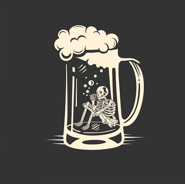 Birra al cranio