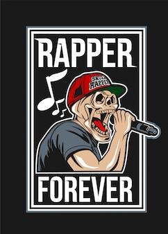 Skull rapper