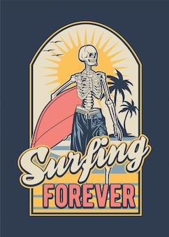 Surfing del teschio