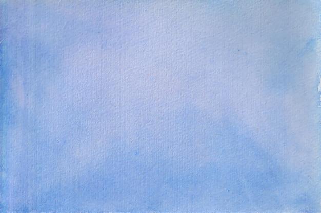 Texture di sfondo morbido acquerello blu cielo