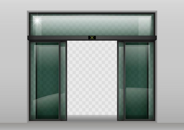 Porte automatiche scorrevoli in vetro