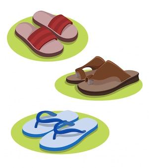 Illustrazione di pantofola