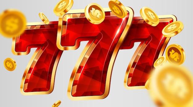 La slot machine vince il jackpot del casinò con il concetto di grande vincita del jackpot
