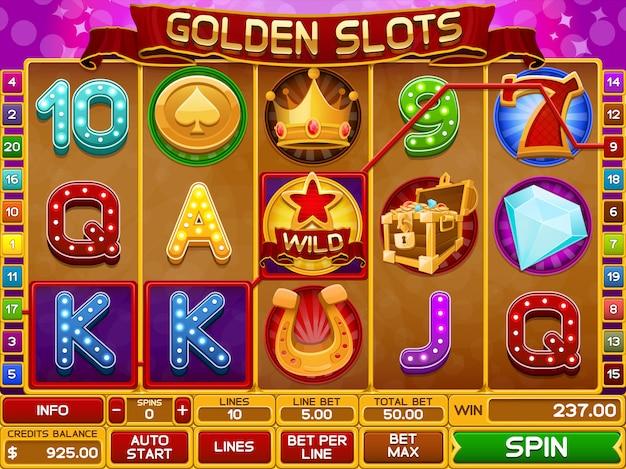 Modello di gioco di slot